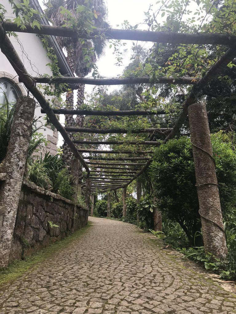 alentours de Lisbonne sintra chemin de pena