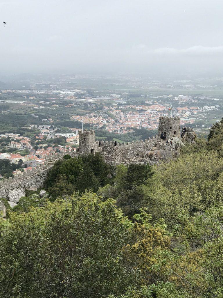 alentours de Lisbonne sintra chateau des maures