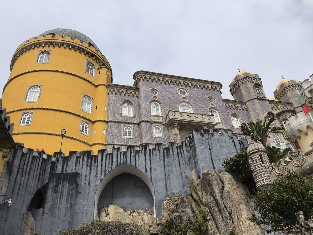 alentours de Lisbonne sintra palais de pena
