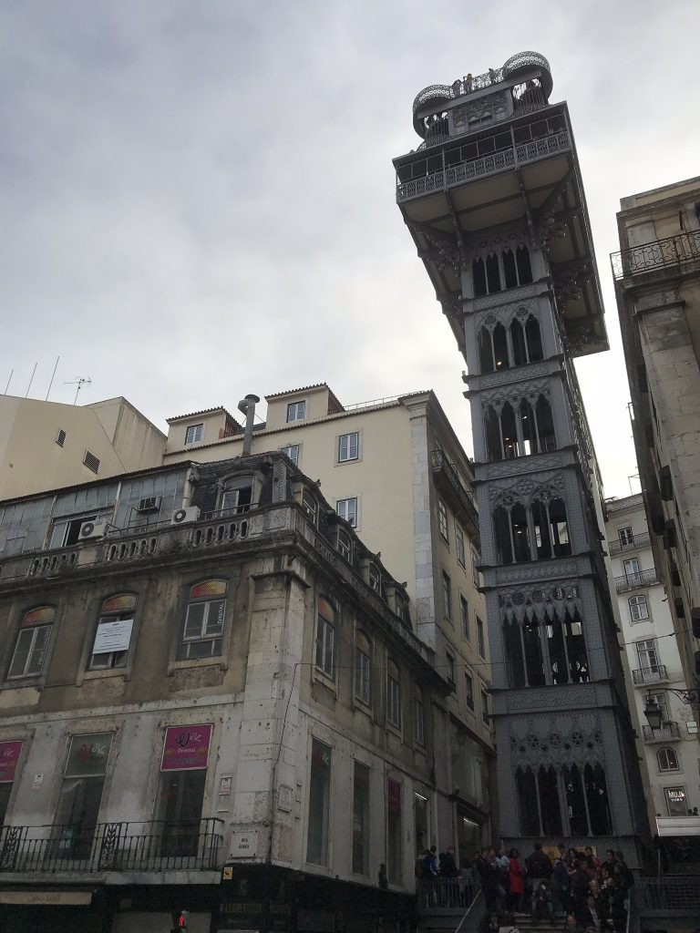 Lisbonne ascenseur de Santa Justa