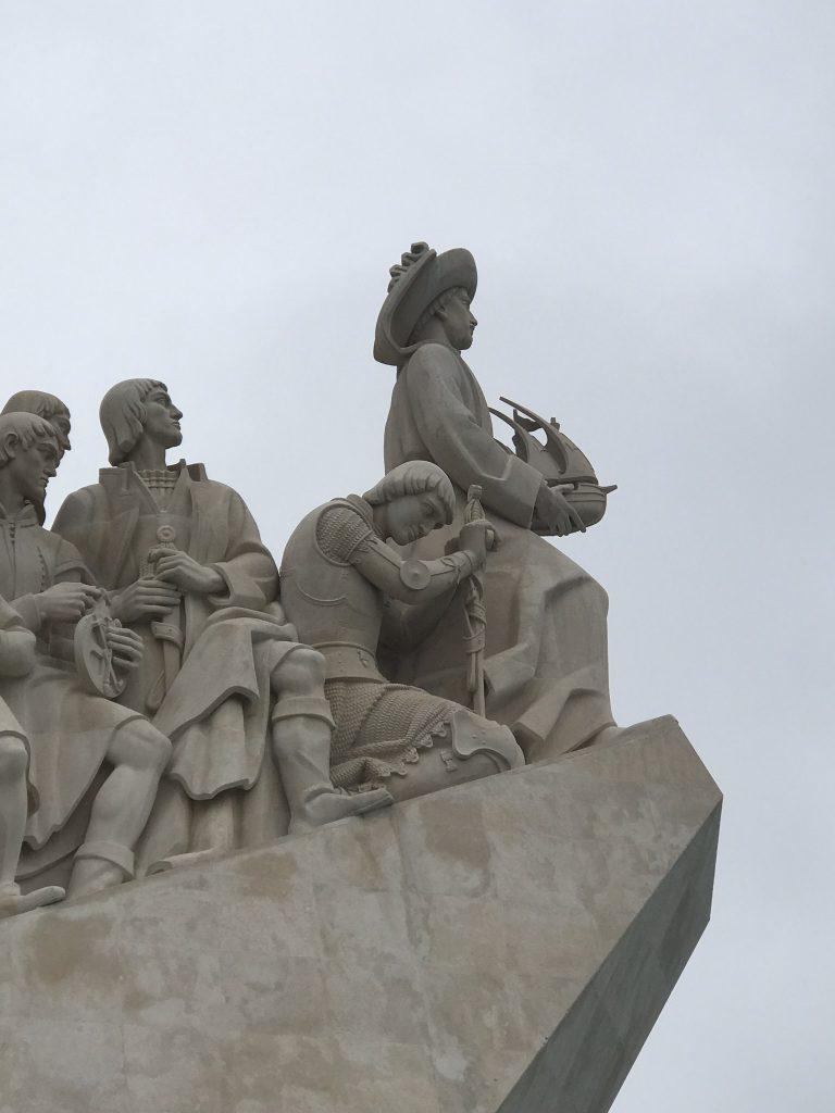 alentours de Lisbonne : monument des découvertes