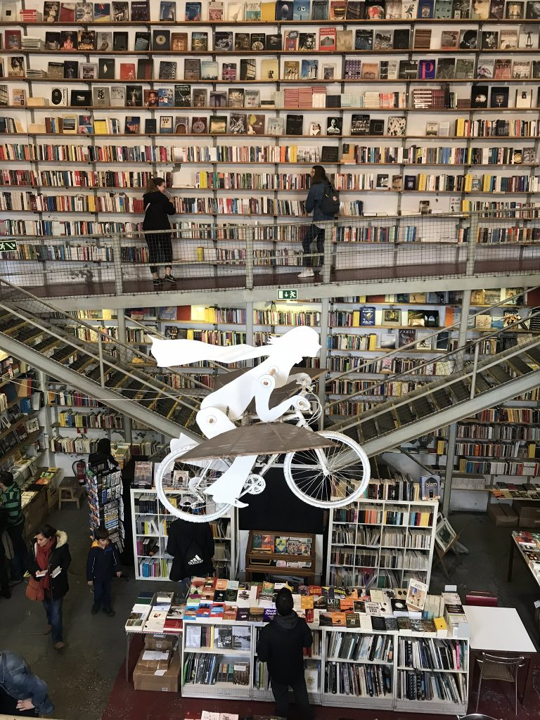 alentours de lisbonne librairie Ler Devagar