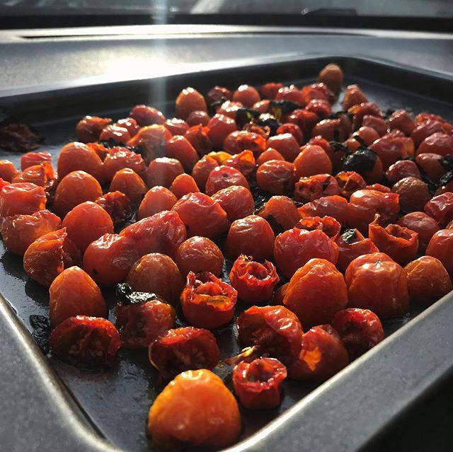 Tomates séchées cuites dans la voiture ! J'avais vu @pimentoiseau faire ça l'année dernière. Merci pour l'inspiration. Ca m'a trop fait kiffer comme tuto. Je suis en train de réfléchir à d'autres utilisations :). Je vous montre tout ça en stories. #cuissonausoleil #recettebio #cuisinenaturelle #tomatesechee