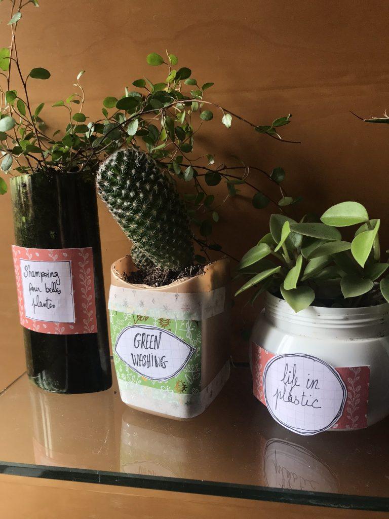 recylcer ses bouteilles de shampoing