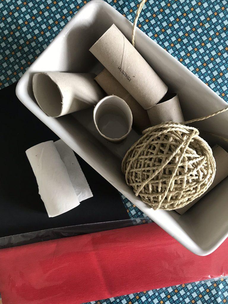 matériel pour fabriquer une mini pinata bombe