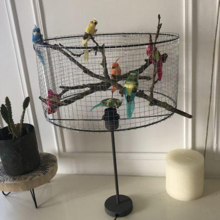 Atelier lampe à oiseaux
