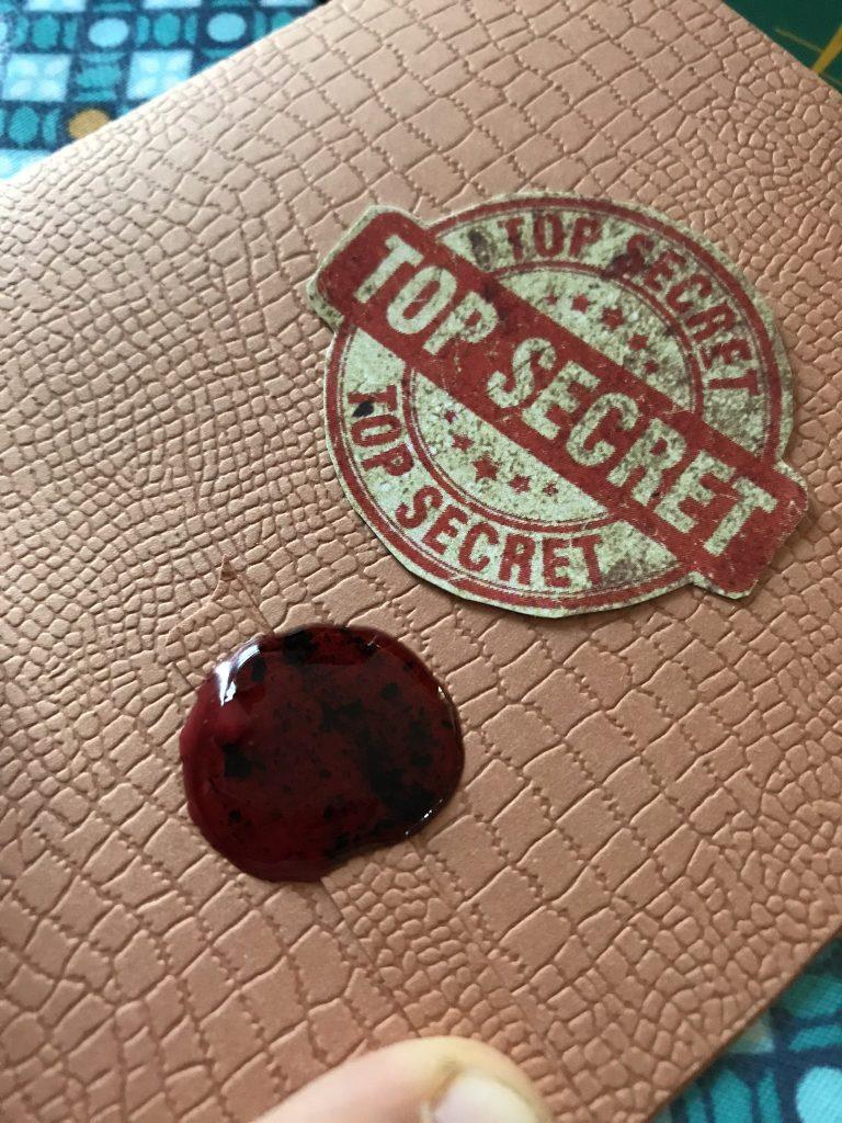 Invitation anniversaire détective
