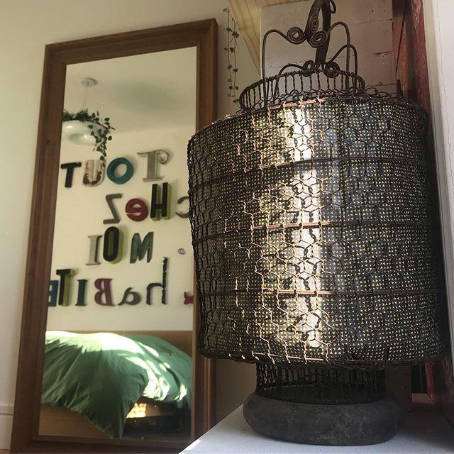 lanterne recyclée