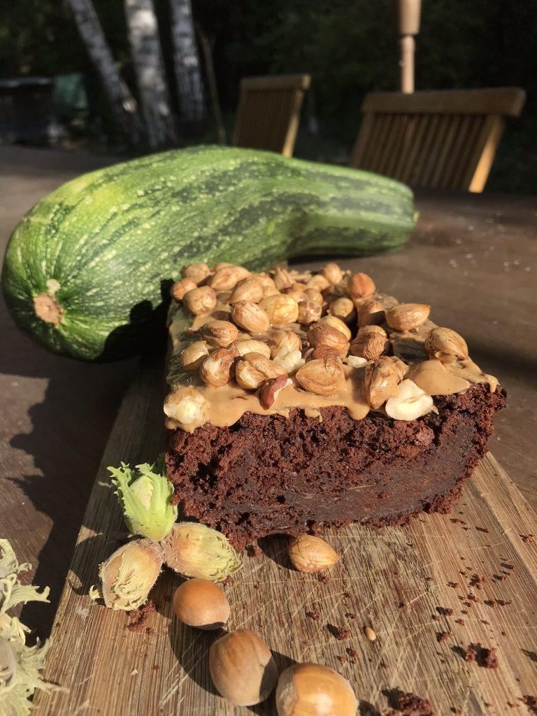 Recette du gâteau au chocolat et aux courgettes du jardin