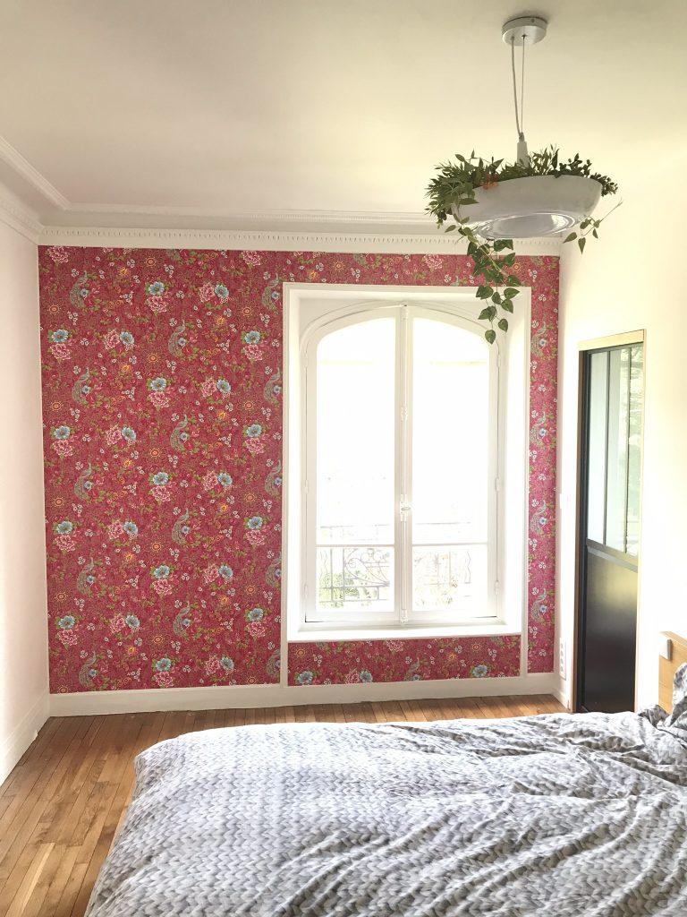 chambre parentale papier peint