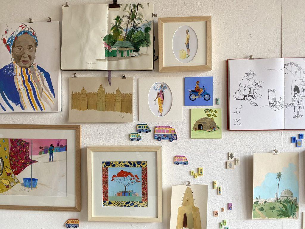 Portes ouvertesdes ateliers d'artistesde Montreuil