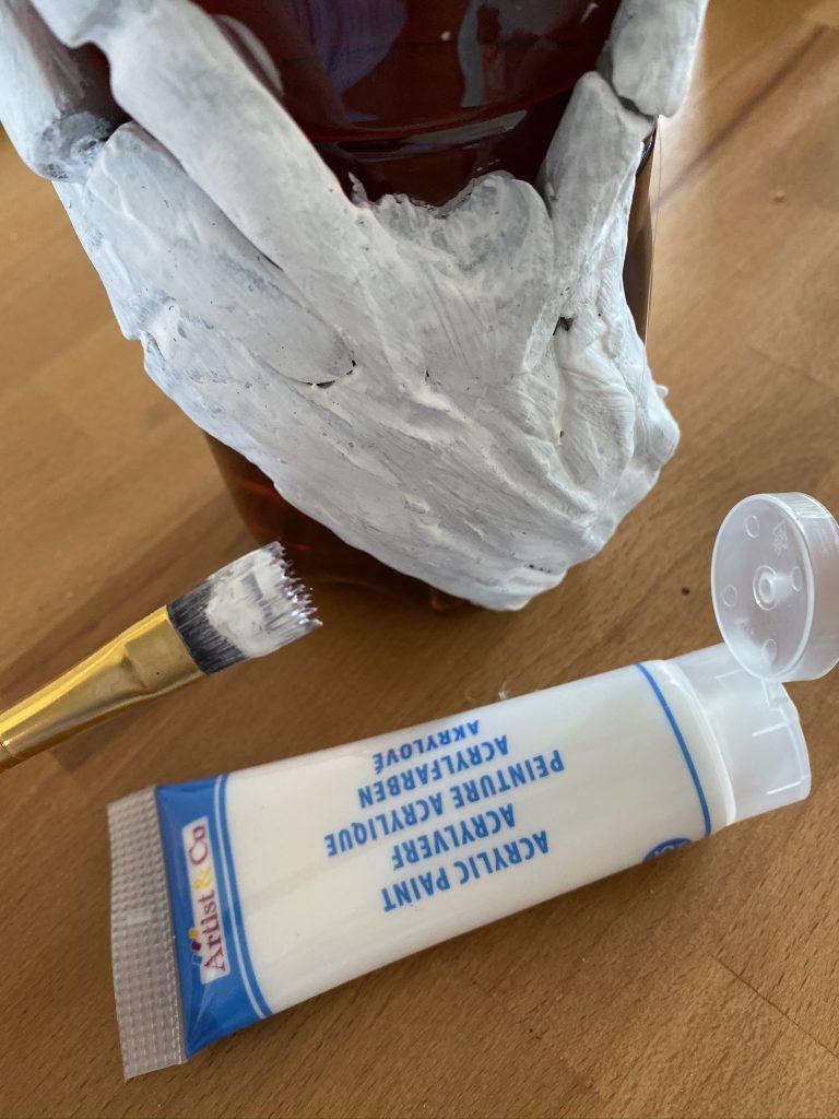 peindre l'argile