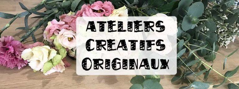 ateliers créatifs originaux