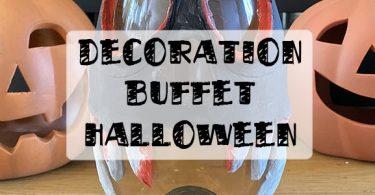 décoration de bouteilles pour Halloween