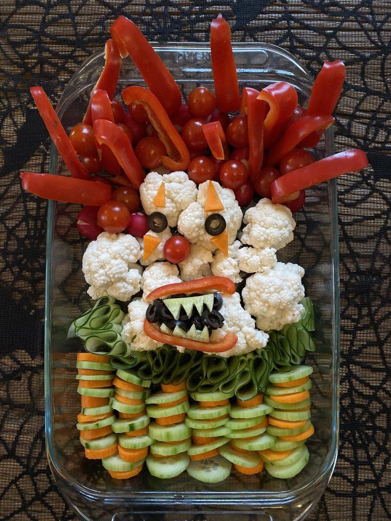 idées Halloween buffet repas