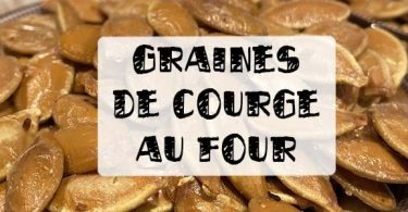 graine de courge au four