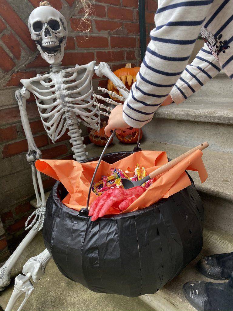 idées Halloween chaudron magique