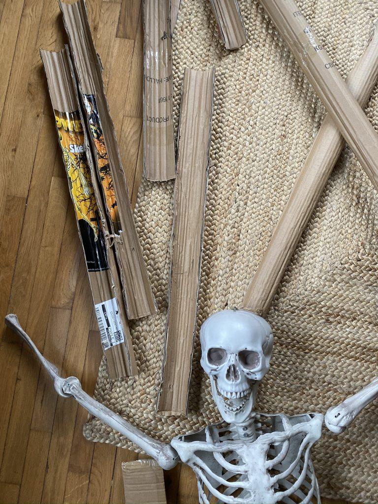 Fabriquer un squelette ailé