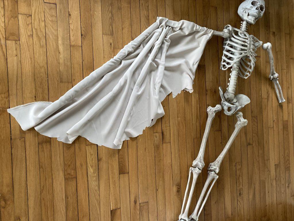 idées Halloween Fabriquer un squelette ailé