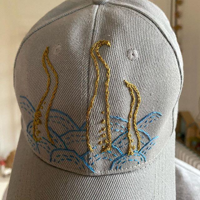 Broderie sur casquette