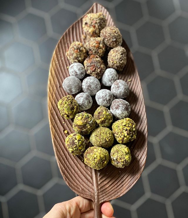 truffes au chocolat