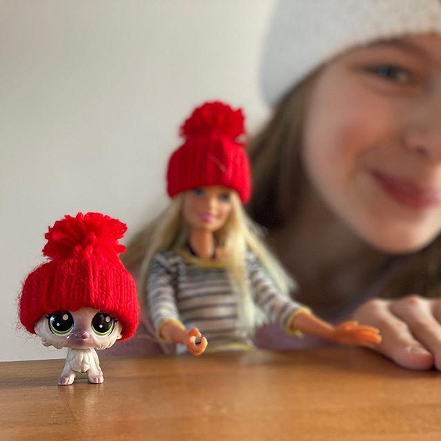 Tuto mini-bonnet de poupée