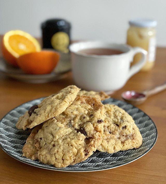Cookies au chocolat et au caramel beurre salé