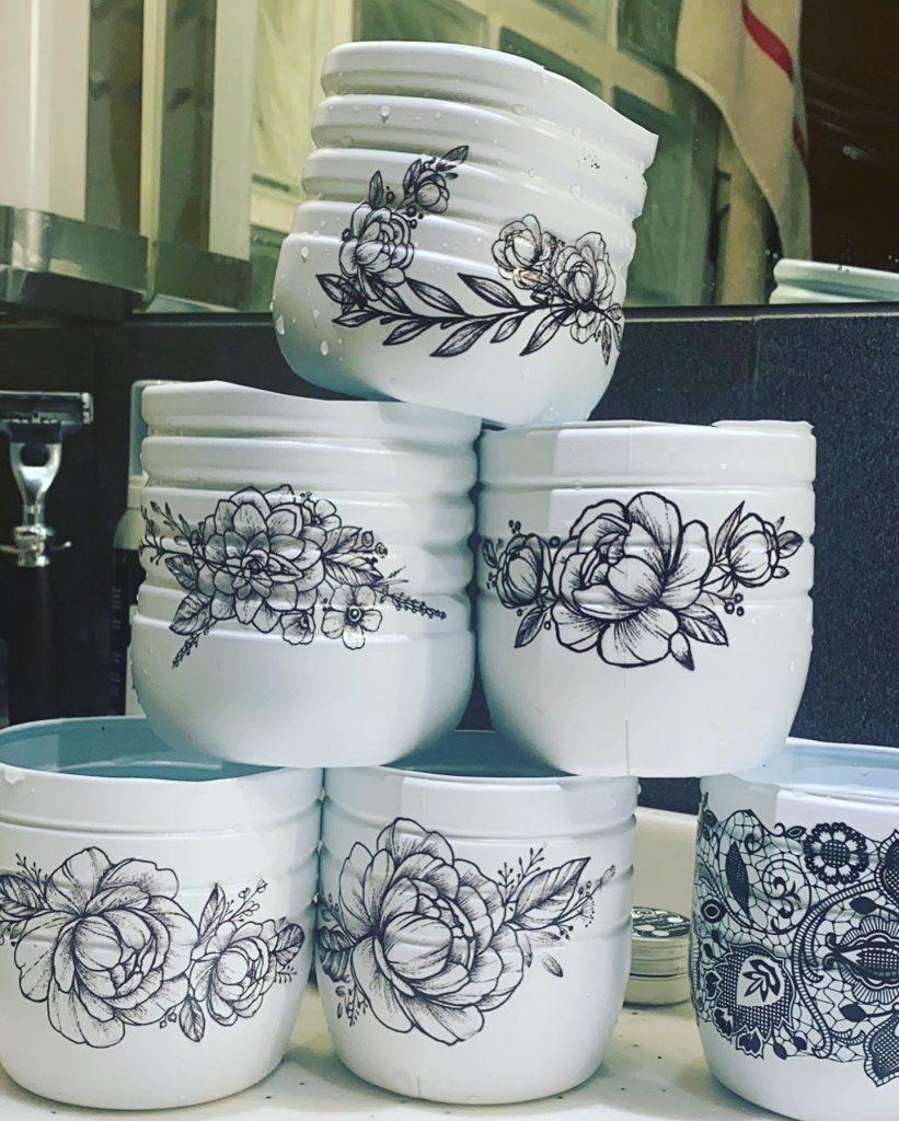 tatouage éphémère décoration