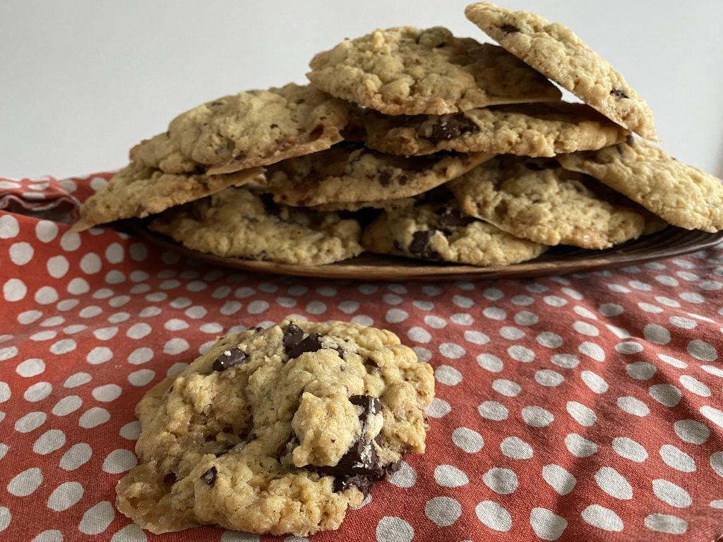 cookies chocolat et caramel au beurre salé