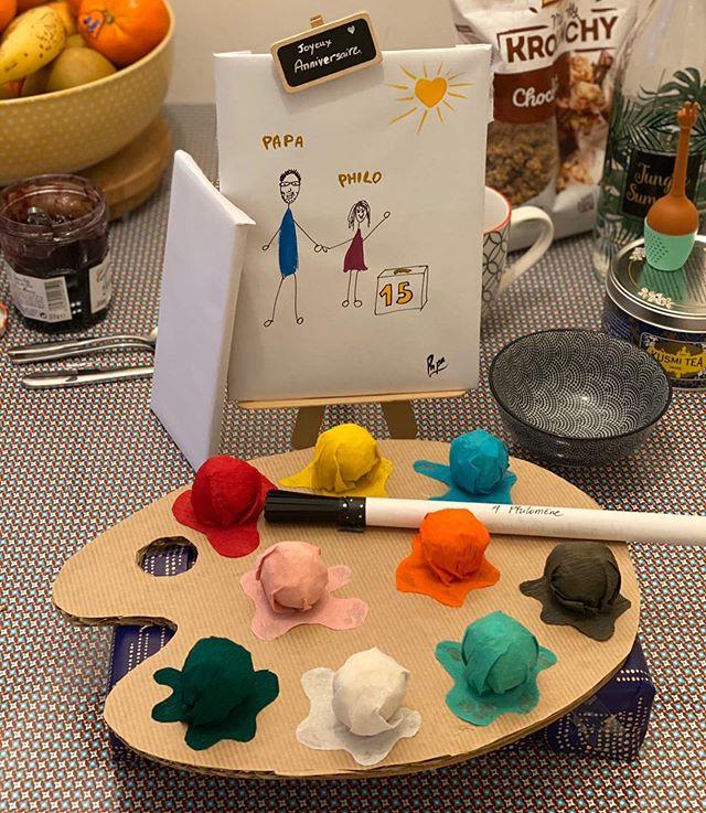 Surprise d'anniversaire pour enfant créatif