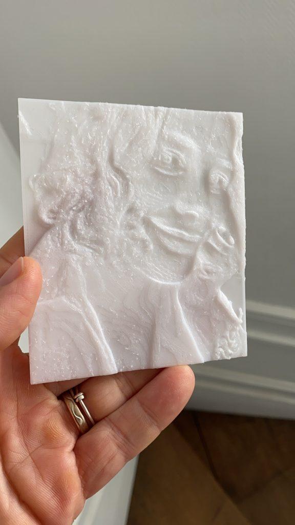 portrait imprimante 3 D