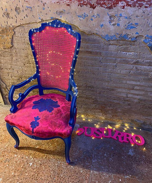 fauteuil recyclé