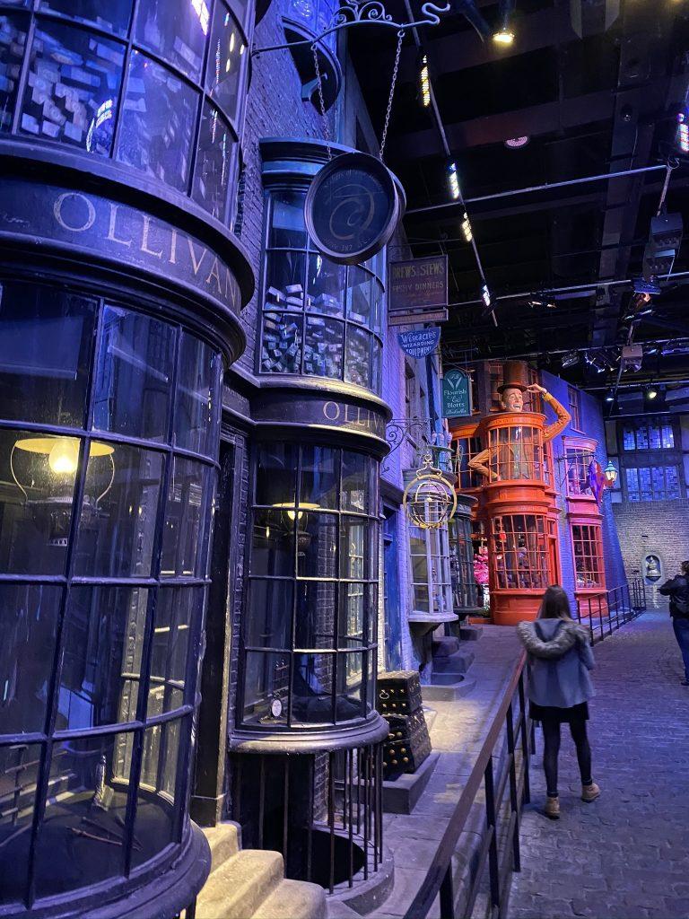 chemin de traverse Harry potter
