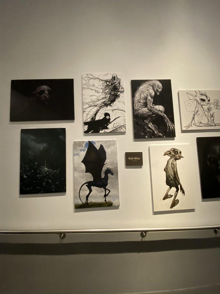 dessins et croquis studios Harry Potter