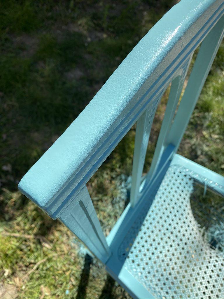 nouvelle couleur de la chaise