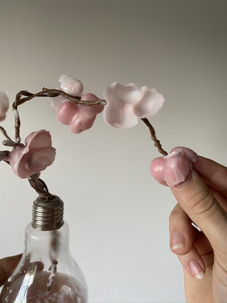 fleur en cire