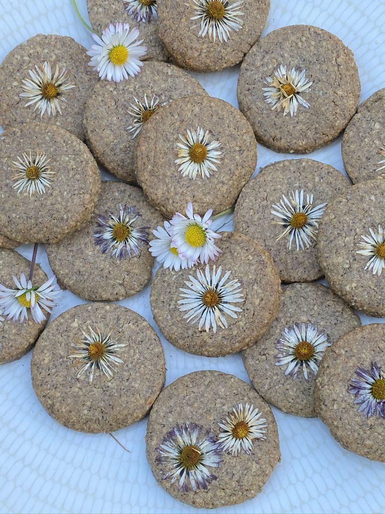 biscuits aux pâquerettes
