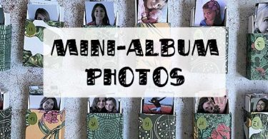 tuto mini album photo