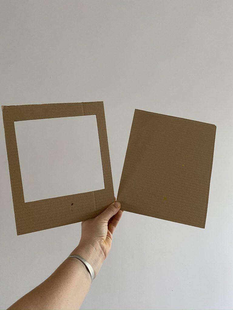 tablette graphique en carton