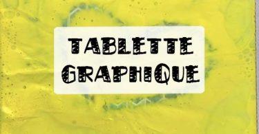 tuto tablette à dessin en carton