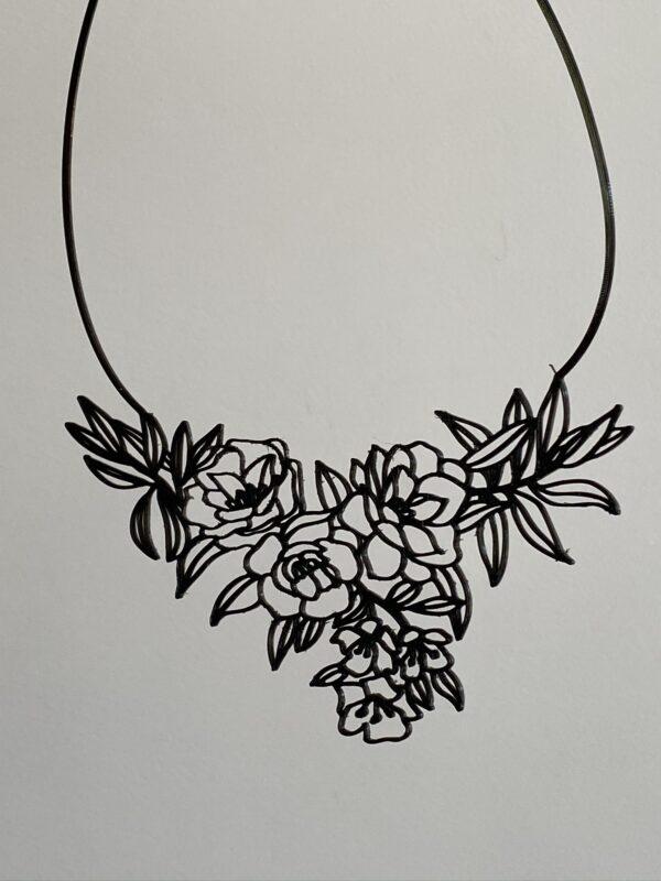 Collier fleur D créations ciloubidouille