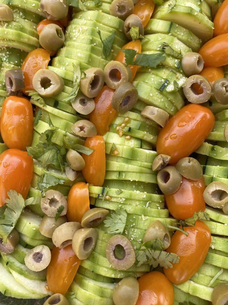 Flan de légumes comme un tian