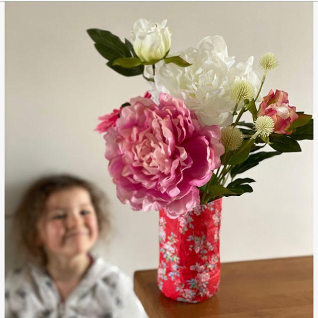 Vase récup pour la fête des mères