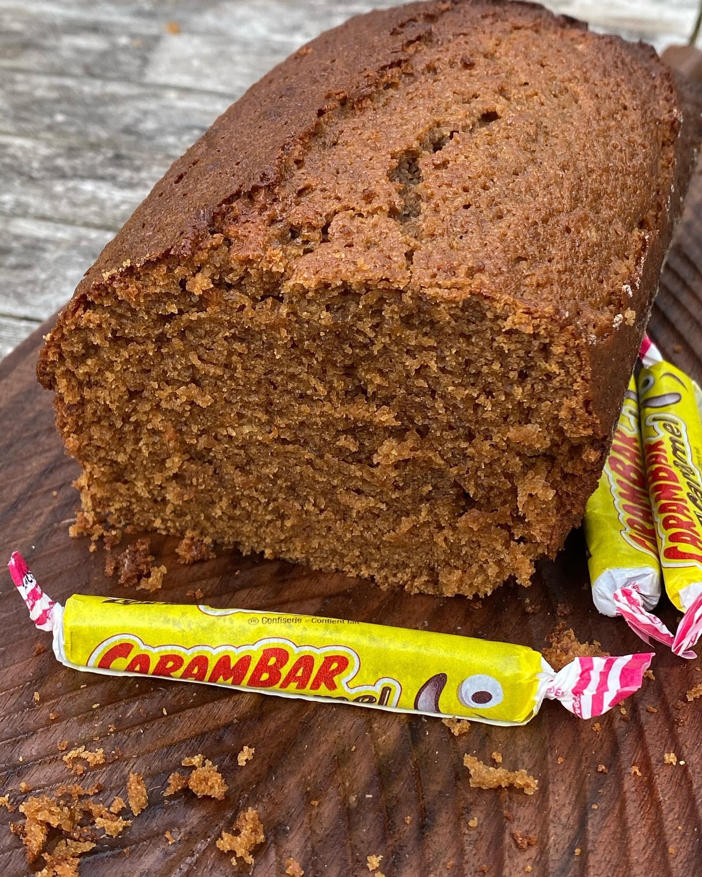 Gâteau aux Carambar