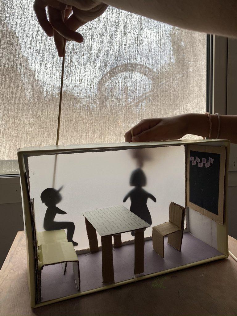 tuto théâtre d'ombres