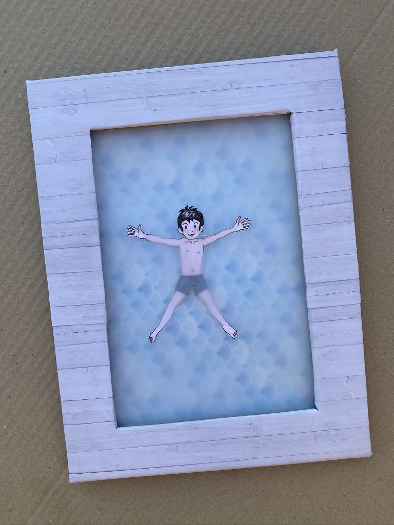 piscine en papier