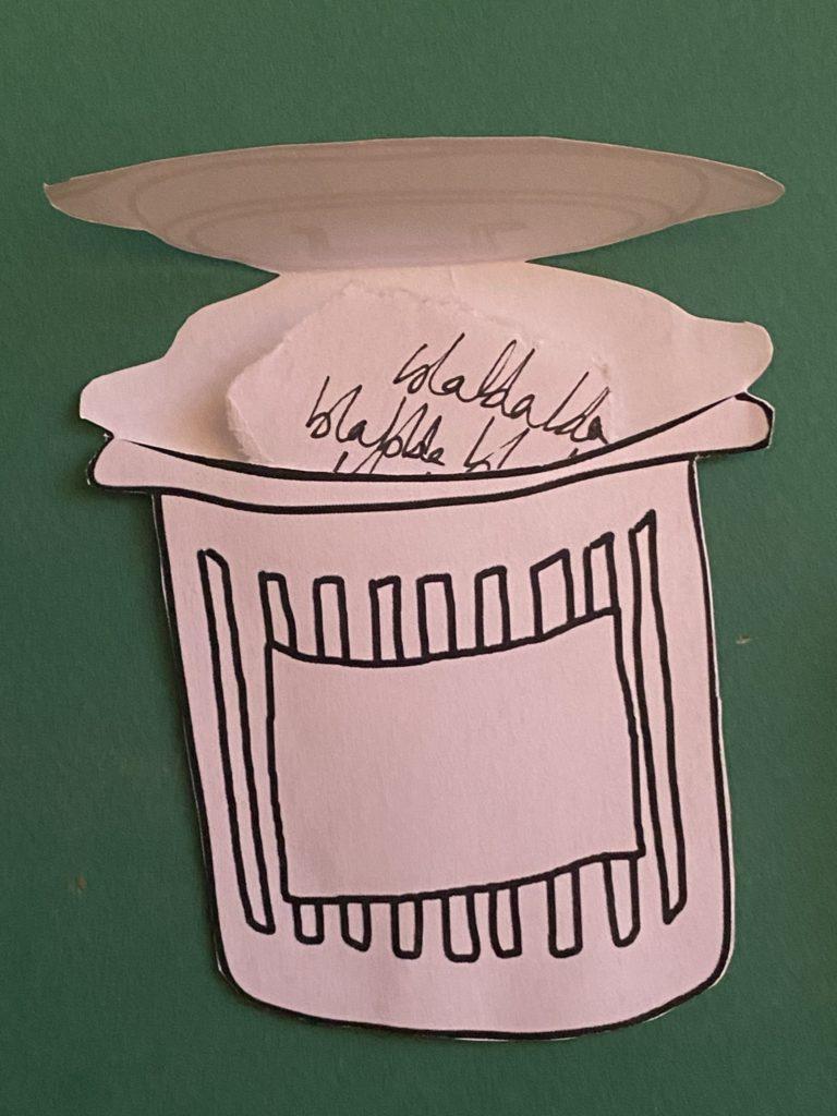 poubelle anti harcelement