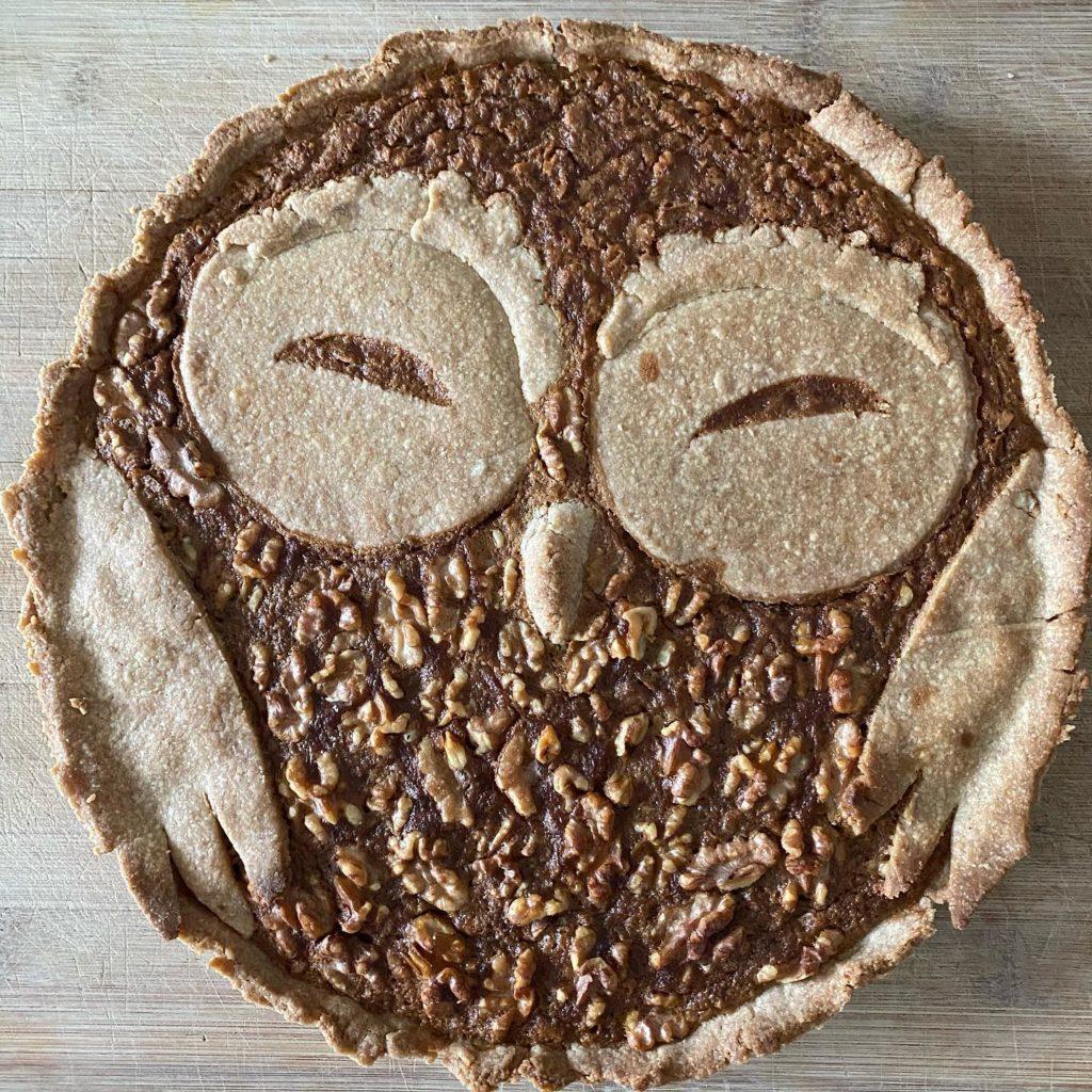 recette chouette tarte aux noix