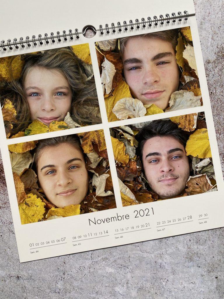calendrier photo code promo