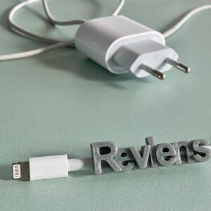 chargeur personnalisé cable reviens